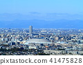 Nagoya city Urban landscape Landscape around Nagoya Dome 41475828