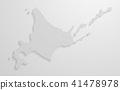 矢量 地图 北海道 41478978