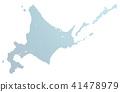 矢量 地图 北海道 41478979
