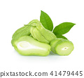 Chayote on white background 41479445