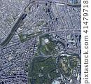 tokyo, kudan, aerial photograph 41479718