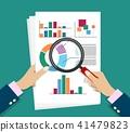 report, research, vector 41479823