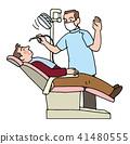 치과 의사, 치과, 진찰 41480555