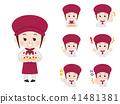 Pastry women variation 41481381