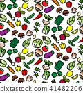 icon, vegetable, vector 41482206
