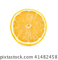 lemon isolated on white background 41482458