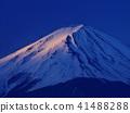 富士山 黎明 雪冠 41488288