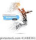 basketball vector sport 41488361