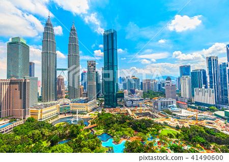 吉隆坡,馬來西亞的街道 41490600