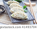 korean dumplings food 41493704