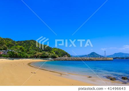 Asako Beach [Sasebo City, Nagasaki Prefecture] - Stock Photo