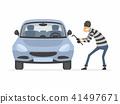 vector, people, thief 41497671