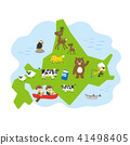 北海道地圖 41498405