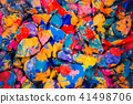 abstract background of the plane lying on colored stones 41498706
