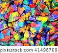 abstract background of the plane lying on colored stones 41498709