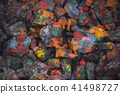 abstract background of the plane lying on colored stones 41498727