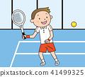 网球 学生 男性 41499325