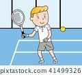 tennis, vector, vectors 41499326