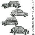car, drawn, hand 41501227