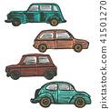 color, car, drawn 41501270