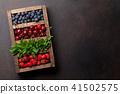 Fresh summer berries box 41502575