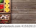 pasta, tomato, garlic 41502613