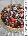 berry tart, sweet, tart 41504137