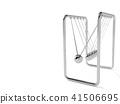 Pendulum isolated on white background 41506695