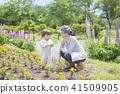 gardening, parenthood, parent and child 41509905