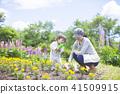 gardening, parenthood, parent and child 41509915