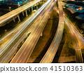 互换 夜景 高速公路 41510363