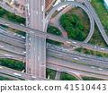 交汇处的鸟瞰图 41510443