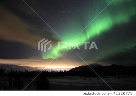 Canada Whitehorse · Winter Aurora 41510779