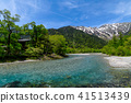 Kamikochi of fresh green 41513439