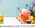 Summer drink and citrus fruits 41514289