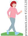 走路的女人 41515120