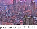 Building apartment pattern Hong Kong living. 41516448