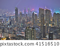 HK skyline at night , a symphony of the lights 41516510