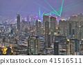 HK skyline at night , a symphony of the lights 41516511