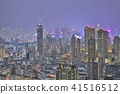 HK skyline at night , a symphony of the lights 41516512