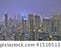 HK skyline at night , a symphony of the lights 41516513