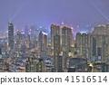 HK skyline at night , a symphony of the lights 41516514