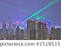 HK skyline at night , a symphony of the lights 41516515
