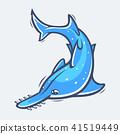 sawfish sea fish 41519449