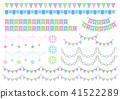 花环 装饰 装饰的 41522289