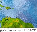 Caribbean, Sea, globe 41524794