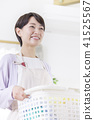 여성, 여자, 세탁 41525567