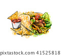 tortilla, mexican, chicken 41525818