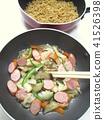 โซบะทอด,อาหาร,บะหมี่ 41526398