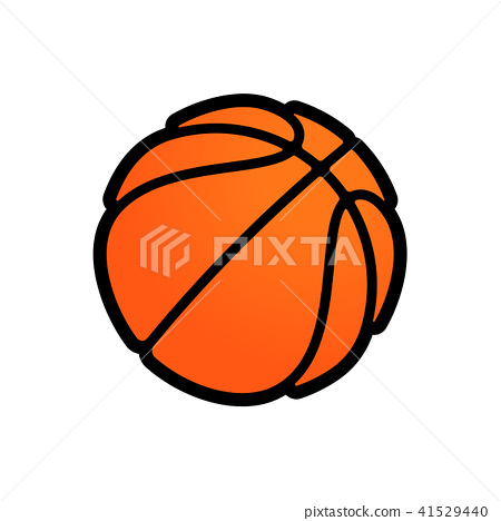 Basketball Logo Vector Icon Streetball Stock Illustration 41529440 Pixta
